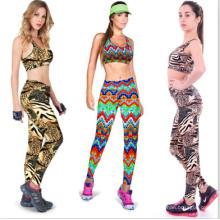2015 nova moda feminina esporte yoga calças e sutiãs (46897)
