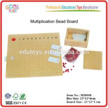 Montessori material Multiplicación de la Junta Perla