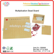 Montessori material Multiplication Bead Board