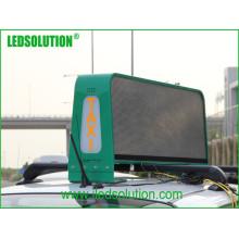 Такси Верхний светодиод отображает для видео-рекламы