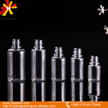 10/15/20/25/30ml transparent different capacity pet serum bottle