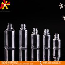 10/15/20/25 / 30ml garrafa de soro de animal de estimação de capacidade diferente transparente