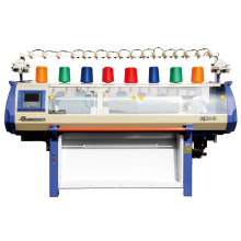 Single system jacquard knitting machine,52 inch knitting width sweater knitting machine,flat bed knitting machine