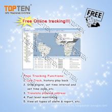 Seguimiento gratuito Ts03 GPS Tracking posicionamiento plataforma de software Ts03-Kw
