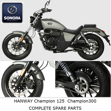 Hanway Champion125 300 Repuestos completos