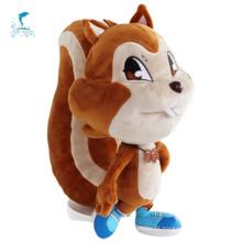 Esquilo bonito personagens animais brinquedos