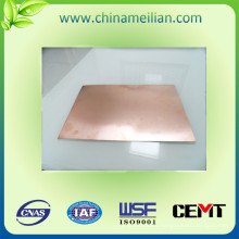 Алюминиевый субстрат Медный лист с ламинированным слоем