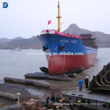 Airbag de borracha marinha intensa para o lançamento de navios Made in China