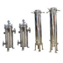 1micron 20m3 / H Flow Rate Oil Bag Filter para la piscina