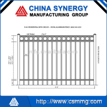 Top Quality Welded Wire Metal Fence 868/358 Made in China