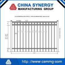 Высококачественный сварной металлический забор 868/358 Сделано в Китае