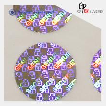 Benutzerdefinierte Hologramm Behälterdichtung Nummer Aufkleber