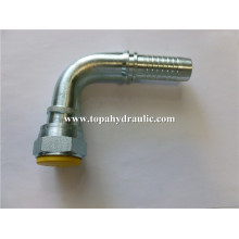 hydraulic barb pressure aluminum swivel hose fittings