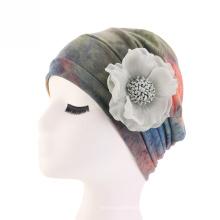 Bonnet turban en modal de coton tricoté bandeaux d'hiver bandeau
