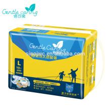 2015 Novo Super descartáveis Super absorvente tecidos Adult Diaper
