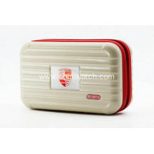 Hardshell beauty case with pc printing