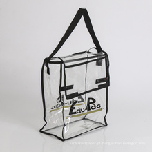 Bolsa de compras transparente de PVC