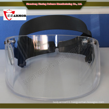 China wholesale ISO 9001 PE fiber Olive Green helmet with mask
