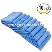 polishing Microfiber towel and house,kitchen,bathroom,furniture,car Application microfiber cleaning towel