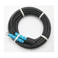 High pressure hose steel wire braid sprial one wire/two wire/four wire rubber hose