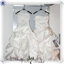 ПП2 без бретелек атласная платье девушки цветка