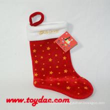 Weiches Weihnachtsgeschenk Strumpf