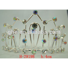 princess crown for girls tall wedding tiaras rhinestone crown brooch crown for women