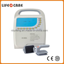 Medical Equipment Portable Monophasic Defibrillator with Monitor Used in The Clinic and Hospital