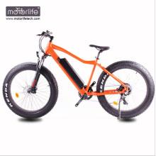 Bicicleta motorizada barata do pneu gordo de 36v500w, Mountain bike elétrico feito na porcelana, venda quente do ebike