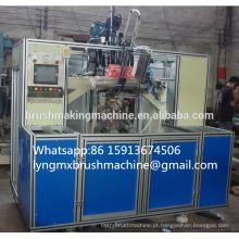 Alta velocidade 5 eixos 3 cabeças CNC escova máquina (2 de perfuração e 1 tufting)