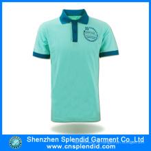 Benutzerdefinierte Logo Kurzarm Baumwolle Polo Shirt Design aus China