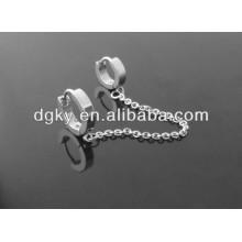 Acier inoxydable Boucles d'oreilles Piercing Ear Clip Piercing