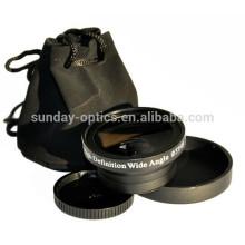Lente grande angular lente 37mm UV49 0.45X