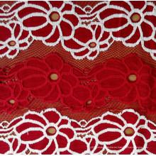 2015 Diseño popular de la tela del cordón