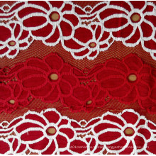 2015 Popular Design of Lace Fabric