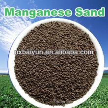 Manganese Greensand for reducing iron, manganese from water