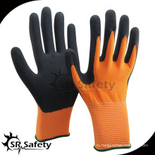 SRSAFETY резиновые перчатки латексные пенные перчатки