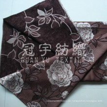 Chenille Jacquard Polyester-Gewebe für Sofa