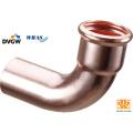 Kupfer Press Fitting mit Dvgw-Zulassung