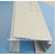 0.7mm thickness Aluminum head track for vertical blind-vertical blind components