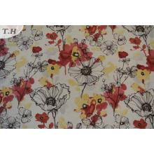 Tissu tricoté à la main de tricot de polyester bon marché