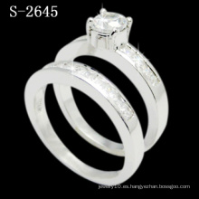 Fashion Combination Zirconia Ring Lady Ring (S-2645. JPG)
