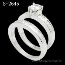 Anel da senhora da anel da zircônia da combinação da forma (S-2645. JPG)
