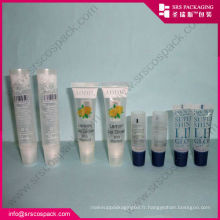 Srs1 body lotion plastic eco-friendly cosmétiques tube packaging