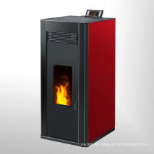 Estufa de alta temperatura roja con negra