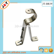 home decoration tension adjustable curtain rod wall bracket support