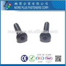 Taiwán M4X6 SUS Torx Drive de acero inoxidable para tornillos de seguridad móviles