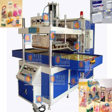 Automatic Pet, PVC, PETG Plastic Packaging Box Making Machine