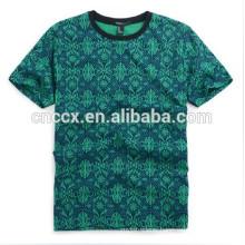 TOP TS-105 2014 latest Cotton Men's Custom Printed T-shirt