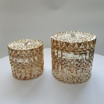 Candle / Candy Jar / Cantainer / vat Opslagfles decoratief met deksel